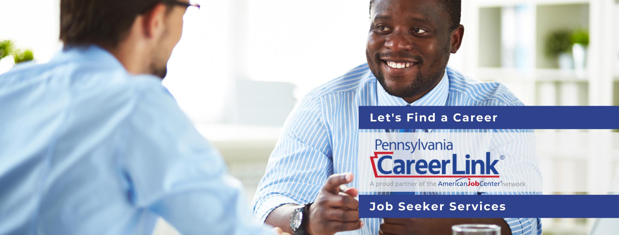 PA CareerLink Job Seeker Header