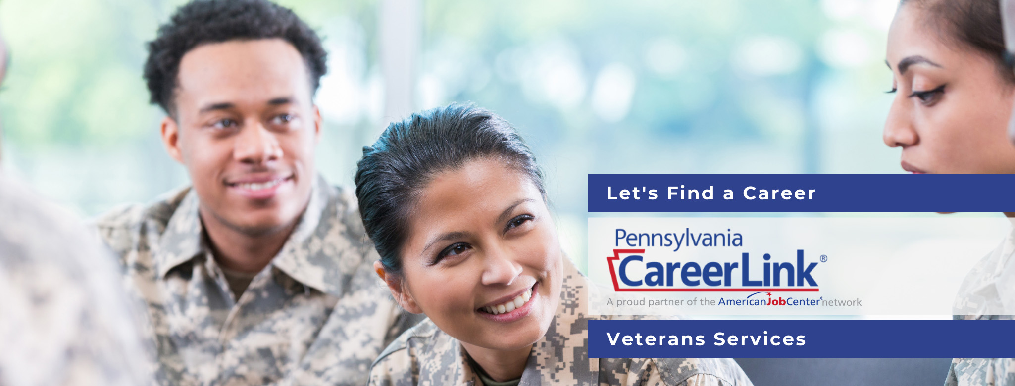 PA Careerlink Veterans Services
